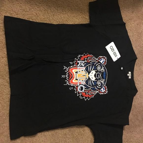 ed92ad94 Kenzo Shirts | Mens Rainbow Tiger T | Poshmark